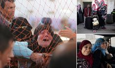 Emotional scenes as Egypt opens its border with the Gaza Strip