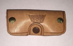 Vintage Ford Leather Car Key Holder Cowhide Pouch Truck Keys Case Day Ford Co