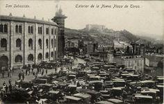 San Sebastián : exterior de la nueva plaza de toros, 19--?