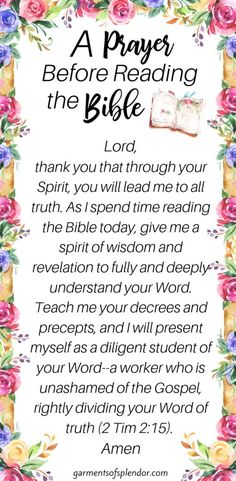 Deepen your faith with this powerful Bible study method that takes you deeper into your personal Bible study. This Bible study method is very effective! Prayer Scriptures, Bible Prayers, Faith Prayer, God Prayer, Prayer Quotes, Bible Verses Quotes, Faith Bible, Devotional Bible, Prayer Ideas