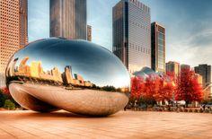 Cloud Gate Sculpture | Millennium Park, Chicago