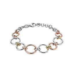 Bratara dama Fossil Classic JF01821998 Metal Chain, Fossil, Charmed, Classic, Bracelets, Silver, Jewelry, Derby, Jewlery