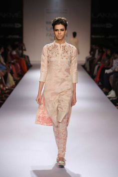 "fashionduniya: "" Lakme Fashion Week Winter Festive 2014 Designer: Soumitra """