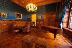 Schwerin Castle Interior | Parlor, Schloss Schwerin (castle), Schwerin, Mecklenburg-West ...