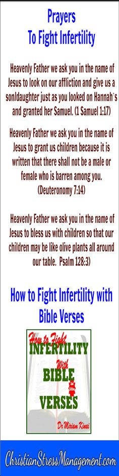 Spiritual warfare prayers to fight infertility