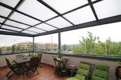 Resultado de imagen para terrazas cubiertas con policarbonato