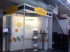 Our booth at Marketing Week live 2013.