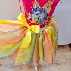 b4246ae7bdb1 Girl's Pink Unicorn Costume with Fairy Wings made to measure Age 3yrs -  12yrs