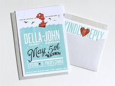 Custom From Scratch Wedding Invitation Design by DapperPaper, $4.50