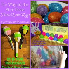 Fun Ways to Use All of Those Plastic Easter Eggs