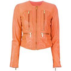 MICHAEL MICHAEL KORS leather jacket ($685) ❤ liked on Polyvore