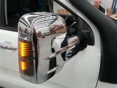 Clearview Tow Mirrors- Ford Ranger 2012-current (Chrome)