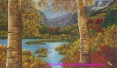 Autumn Splendour Oil on Canvas Size:  24 x 39 inches or 60 x 100 cms. SOLD