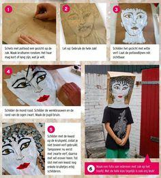 ROMEINS KNUTSELEN - make up en schoonheidsidealen.