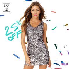 Rafaella Silver Sequin Dress #MyAlloy #AlloyApparel www.alloyapparel.com