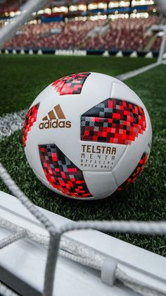 adidas Football has today (Tuesday) revealed the Official Match Ball for the knockout stage of the 2018 FIFA World Cup Russia. Adidas Football, Football Soccer, Soccer Ball, Soccer Games, Football Boots, World Cup 2018, Fifa World Cup, Football Mondial, Pro Evolution Soccer