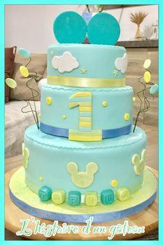 Gâteau thème Mickey