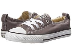 Converse Kids Chuck Taylor® All Star® Shoreline Slip (Little Kid/Big Kid) Charcoal - Zappos.com Free Shipping BOTH Ways