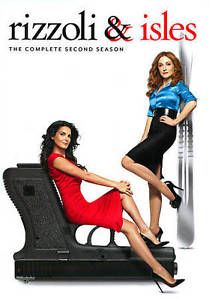 Rizzoli-amp-Isles-The-Complete-2nd-Second-Season-2-DVD-SET-NEW-FREE-S-T-US