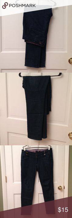 High Waisted Stretch Jeans Worn and loved. True to size. Make me an offer! boom boom Pants Straight Leg