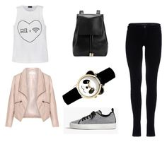 """Untitled #1"" by virike on Polyvore featuring Ally Fashion, James Perse, Gvyn and Zizzi"
