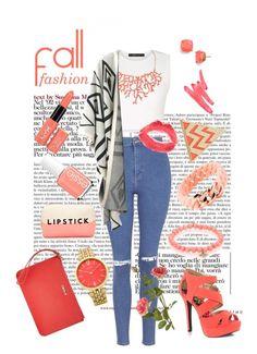 """Kara"" by badwolfco ❤ liked on Polyvore featuring moda, DKNY, BCBGMAXAZRIA, Humble Chic, Essie, Topshop, Chicnova Fashion, Qupid, Ilia i The Rubz"