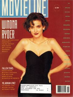 Winona Ryder (I remember buying his magazine just for the cover.)