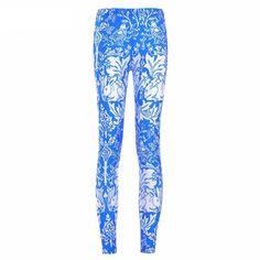 Brer Rabbit Blue Printed Leggings