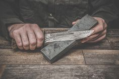 Learning to sharpen your own knives can be a very useful skill. Here's a look at the tools and techniques you'll need to learn to get the job done.