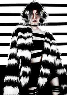 2019 My Works My Works, Fur Coat, Tie Dye, Creative, Jackets, Tops, Women, Style, Fashion