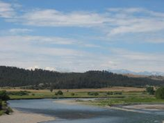 Columbus Montana | Yellowstone River near Columbus, Montana