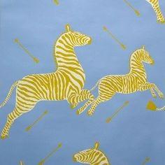 Scalamandre: Zebra Wallpaper WP81388M - 007