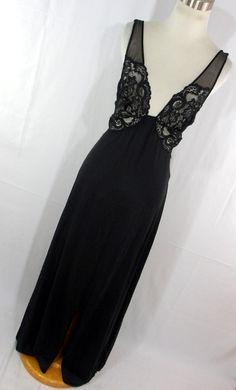 Glydons Vintage Nightgown Nightie Long by AmazingTasteVintage