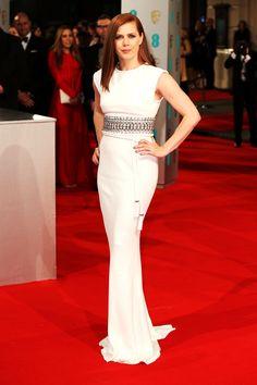 BAFTAs 2015 red carpet | Amy Adams in Lanvin