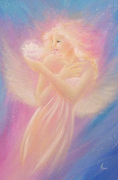 Limited angel art photo bloom modern angel by HenriettesART