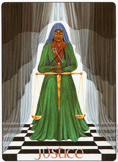 Image result for justice gill tarot