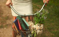 Levar seus livros para passear