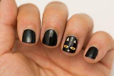 halloween nail art designs - cool halloween nails for 2018 Halloween Nail Designs, Halloween Nail Art, Easy Halloween, Halloween Party, Toe Nail Designs, Acrylic Nail Designs, Acrylic Nails, Nailed It, Cotton Candy Nails