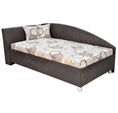 Rohová posteľ ANDREW ľavá 110x200 Lava, Mattress, Bed, Furniture, Home Decor, Decoration Home, Stream Bed, Room Decor, Mattresses
