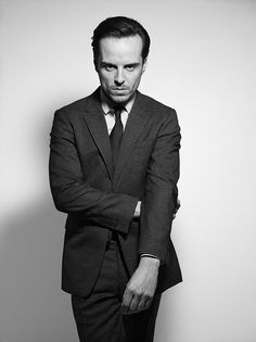 "Andrew Scott photographed by RANKIN for the book ""Blood, Sweat and Bond Behind the Scenes of SPECTRE"" -10/27/2015"