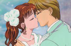 Most Memorable Anime Weddings miki & Yuu Manga Love, Manga Girl, Anime Love, Romantic Anime Couples, Cute Anime Couples, Voyage Hawaii, Kodomo No Omocha, 90 Anime, Kagome Higurashi