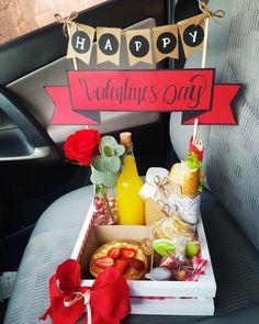 28th Birthday, Birthday Box, Birthday Celebration, Birthday Gifts, Valentine Gift Baskets, Valentine Gifts, Minnie Mouse Birthday Decorations, Dinner Box, Sleepover Food