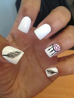 Feather& Dream Catcher Nails♥