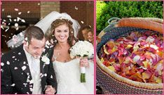 Wedding Giveaways - Win a Eco-friendly Rose Petals for your wedding in this Sweepstakes.