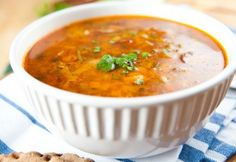 This is a signature soup of The Kling House Restaurant. Easy Dinner Recipes, Appetizer Recipes, Soup Recipes, Clams Soup Recipe, Sausage Appetizers, Hot Sausage, Dinner Is Served, Food Menu, Copycat Recipes