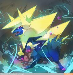 9 Best Sparking Manectric Images Pokemon Fan Art Pokemon Pictures