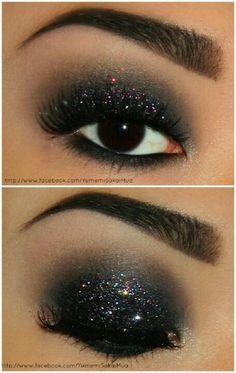 Going out sexy eye shadow - could see this with a black mini dress