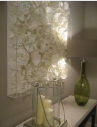 plaster of paris roses