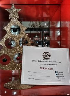 Until Christmas when you purchase a $25 or $50 Dunk'n Dip gift certificate you get a FREE Waffle Stick!