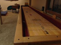 Shuffle Board Table - DIY - Highly Professional Construction